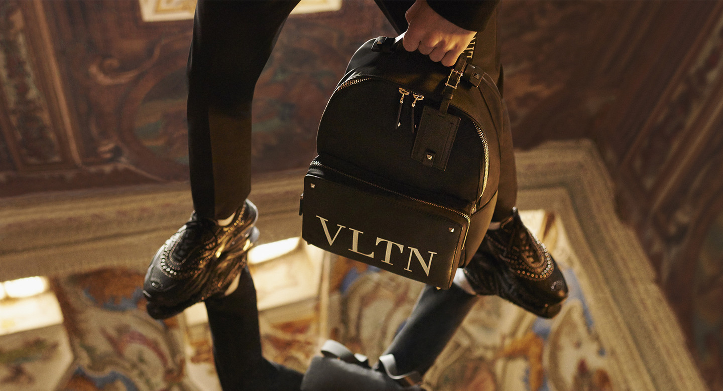 Valentino - VLTN MENSSport, active aesthetic and hip-hop culture in a new couture conception