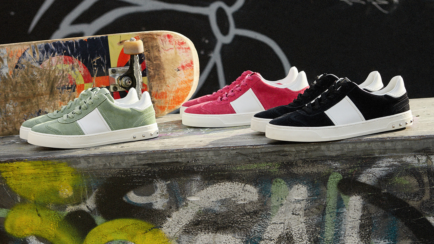 Valentino - Flycrew SneakerThe new Valentino Signature sneaker by Pierpaolo Piccioli: FlycrewShop the collection