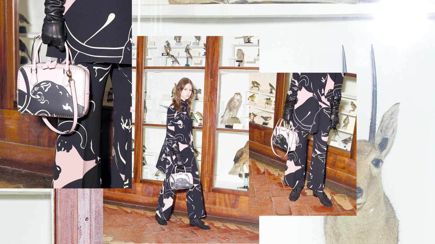 Valentino - Valentino Panther CollectionNew Panther CollectionSleek, Urban LooksFind in boutique